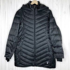 SPYDER Boundless Long Black Jacket